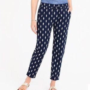 Drawstring linen/cotton pants - NWT